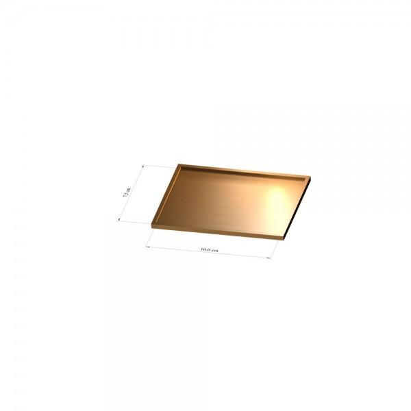 Tray 7,5 cm x 10 cm, 3mm