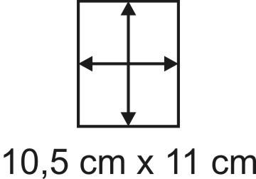 3mm Holzbase 10,5 x 11