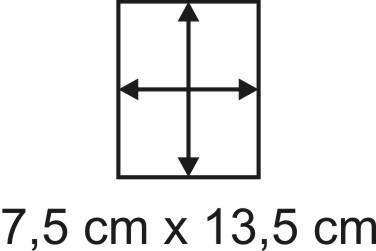 3mm Holzbase 7,5 x 13,5