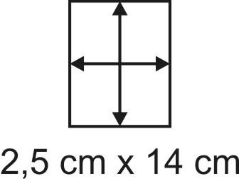3mm Holzbase 2,5 x 14