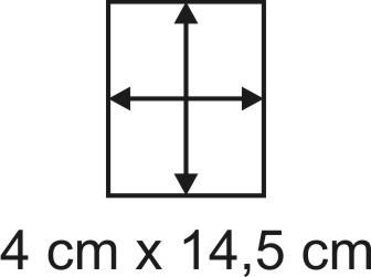 2mm Holzbase 4 x 14,5