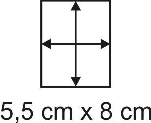 2mm Holzbase 5,5 x 8