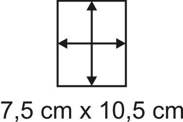 2mm Holzbase 7,5 x 10,5