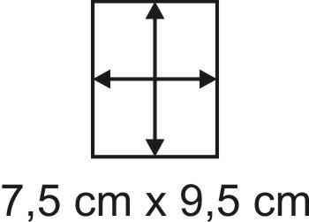 2mm Holzbase 7,5 x 9,5