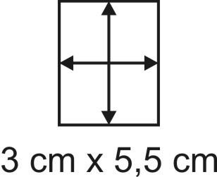 Eckbase 3x5,5 cm, 3mm dick
