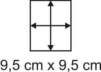 2mm Holzbase 9,5 x 9,5