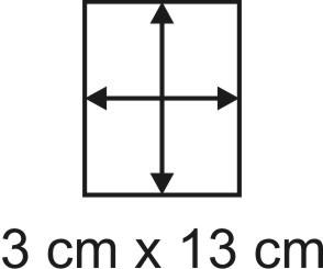 3mm Holzbase 3 x 13
