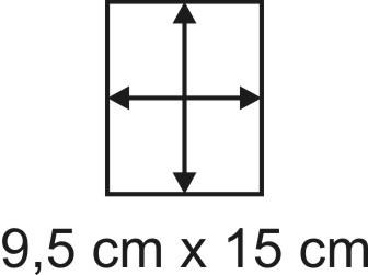 2mm Holzbase 9,5 x 15