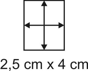 2mm Holzbase 2,5 x 4