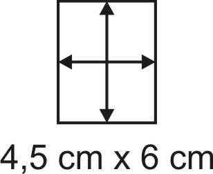 2mm Holzbase 4,5 x 6