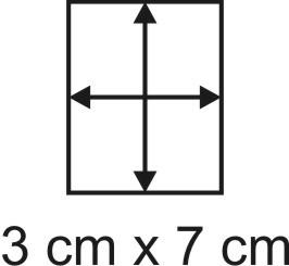 Eckbase 3x7 cm, 3mm dick