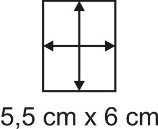 2mm Holzbase 5,5 x 6