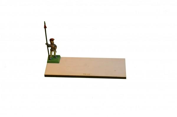 Regimentsbase 5,0 x 12,5