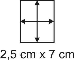 2mm Holzbase 2,5 x 7