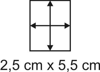 2mm Holzbase 2,5 x 5,5
