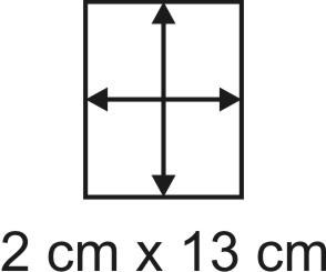 2mm Holzbase 2 x 13