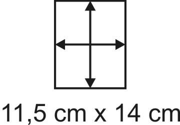 2mm Holzbase 11,5 x 14