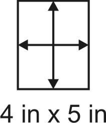 3mm zöllige Holzbase 4 x 5