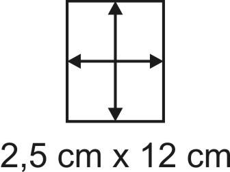 2mm Holzbase 2,5 x 12