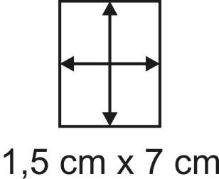 Eckbase 1,5x7 cm, 3mm dick