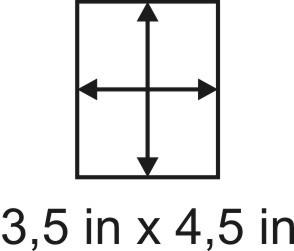 3mm zöllige Holzbase 3,5 x 4,5