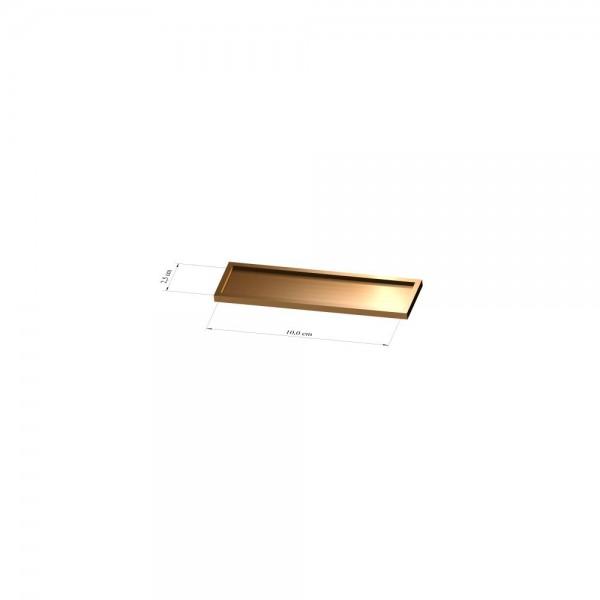 Tray 2,5 cm x 10 cm, 2mm
