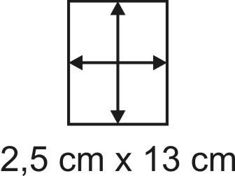 2mm Holzbase 2,5 x 13