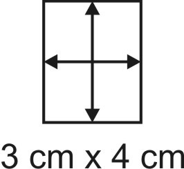2mm Holzbase 3 x 4