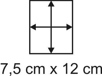 3mm Holzbase 7,5 x 12