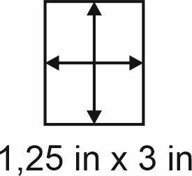 2mm zöllige Holzbase 1,25 x 3