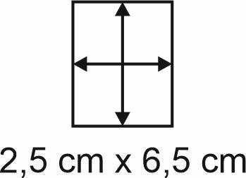 3mm Holzbase 2,5 x 6,5