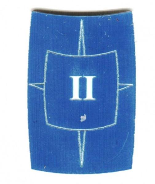 "Zahlenmarker Scuta ""2"", blau"