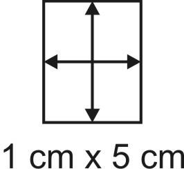 Eckbase 1x5 cm, 3mm dick