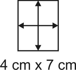 Eckbase 4x7 cm, 3mm dick
