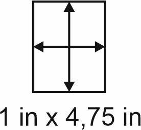 3mm zöllige Holzbase 1 x 4,75