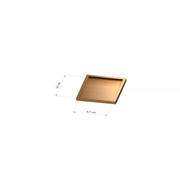 Tray 4,5 cm x 4,5 cm, 2mm