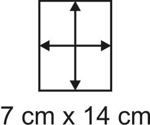 2mm Holzbase 7,5 x 14
