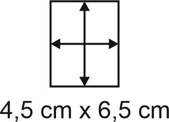 3mm Holzbase 4,5 x 6,5