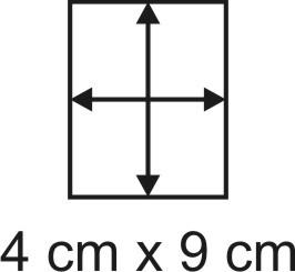 Eckbase 4x9 cm, 3mm dick