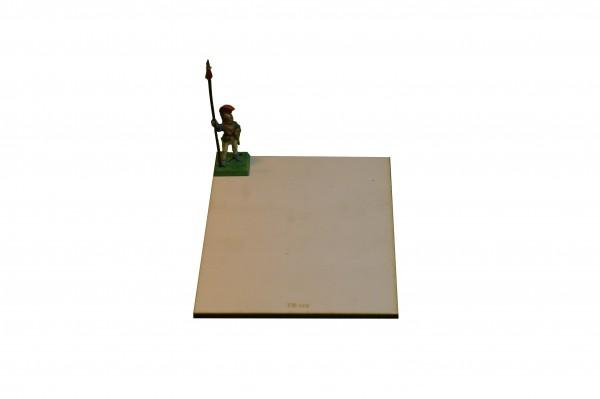 Regimentsbase 10,0 x 12,5