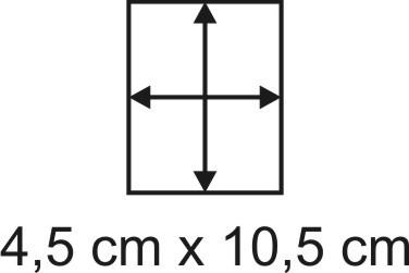 2mm Holzbase 4,5 x 10,5