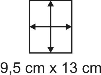 2mm Holzbase 9,5 x 13