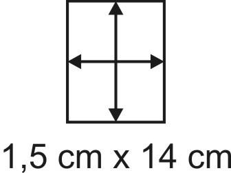 2mm Holzbase 1,5 x 14