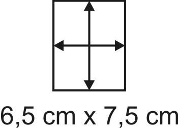 2mm Holzbase 6,5 x 7,5