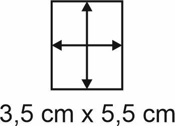 2mm Holzbase 3,5 x 5,5