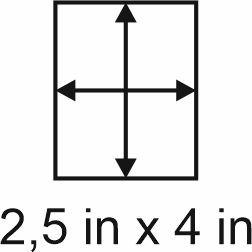 2mm zöllige Holzbase 2,5 x 4