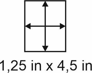 3mm zöllige Holzbase 1,25 x 4,5