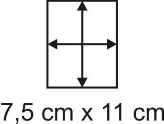 3mm Holzbase 7,5 x 11